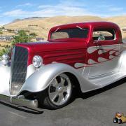 Chevrolet  coupé 1934