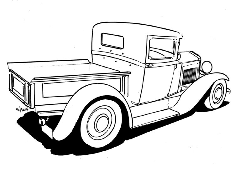 further Adult Chevy Truck Coloring Pictures 2 additionally Stock Illustration Drawing Truck Transporting Load Image Presented Image45662686 as well Rts 18 together with Car Drawing Tutorial Pick Up Truck 34 Front View. on pick up truck drawing