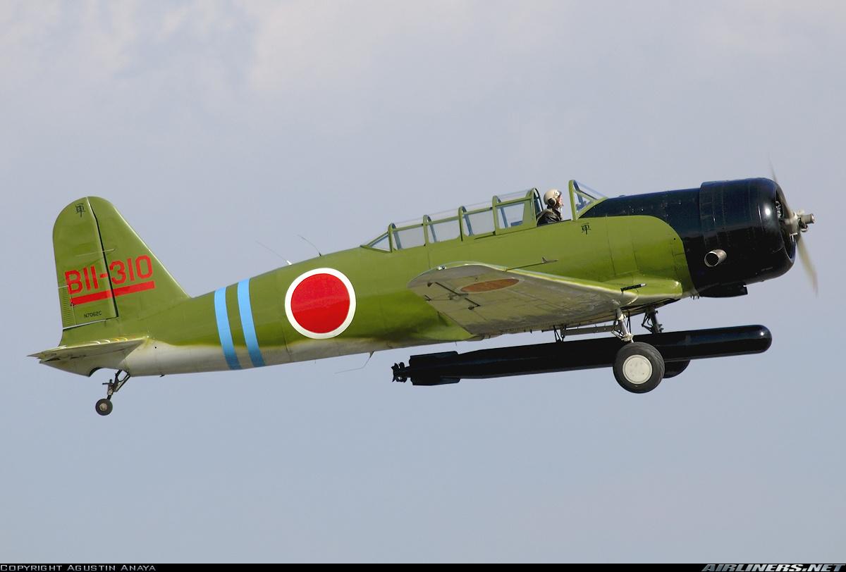 North Américan SNJ-4