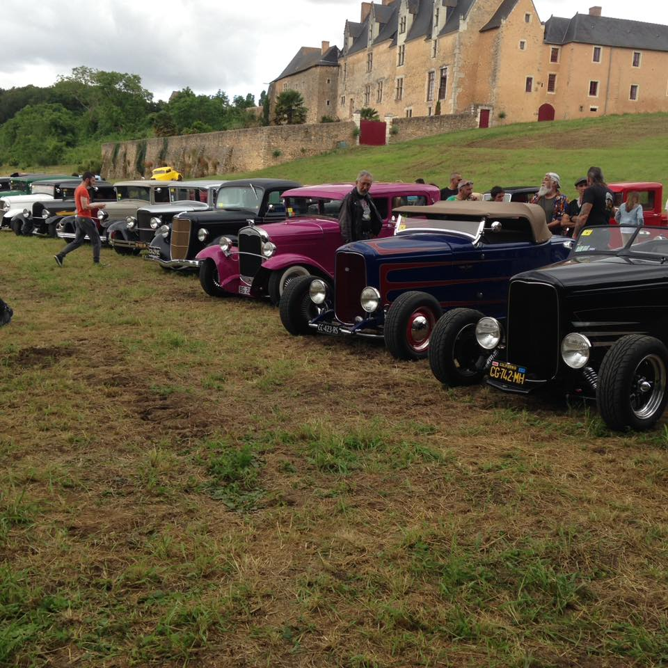 show and shine  - 2/07/16  à Avoise - France