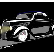 Coupé Ford 1936