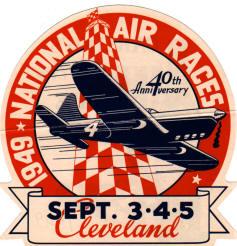 1949 LOGO Cleveland Air Races