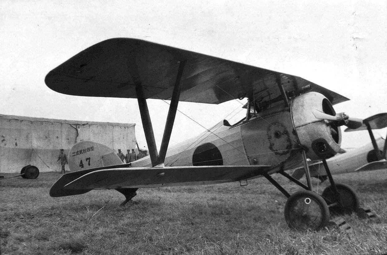 Image d'époque d'un Nieuport 24
