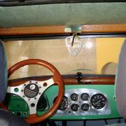 Tableau de bord de la Peugeot