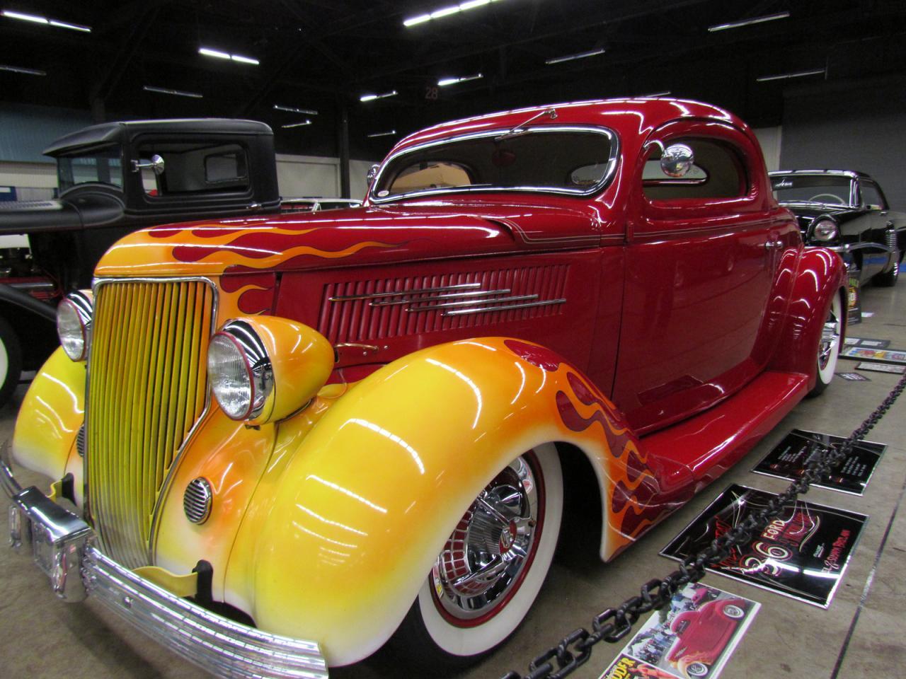 Coupé 3 fenètres - Ford 1936