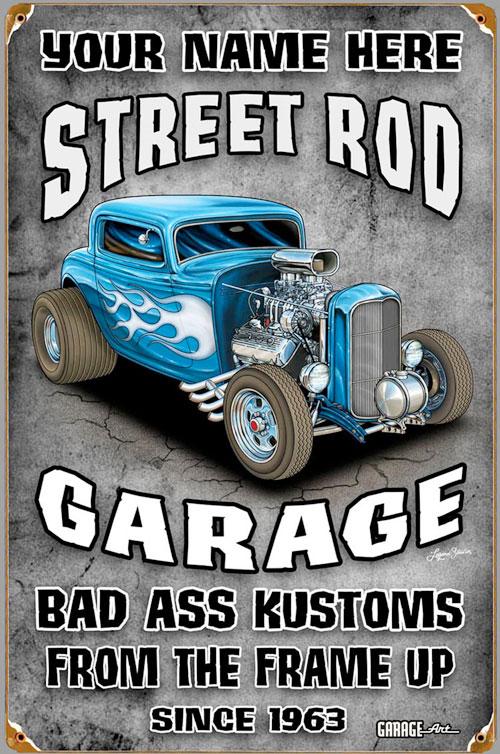 Street Rod garage