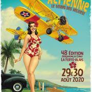 Affiche meeting aérien  La Ferté  2020