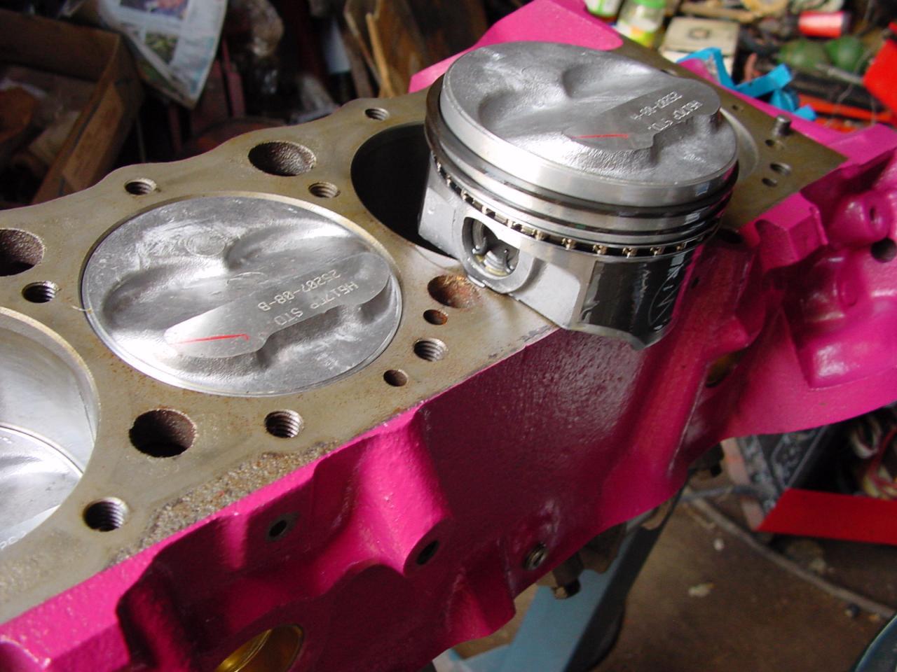 Pistons haute compression for 998 haute compression