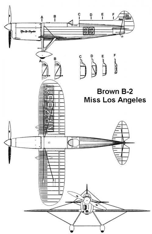 Brown-B2 /  Triptique 3 vues