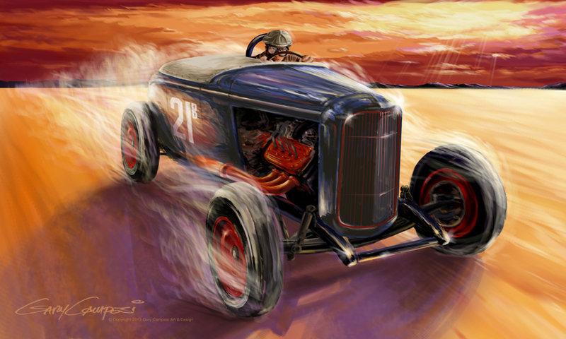 deuce roadster- gary campesi