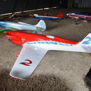Dans le Hangar de Montargis 45