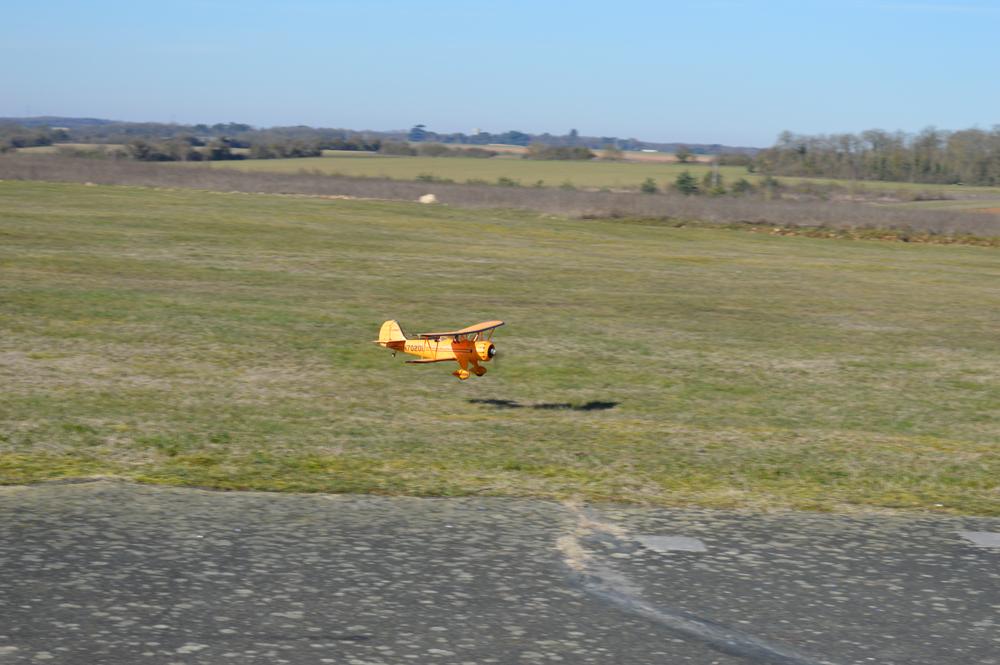 Atterrissage  du Waco