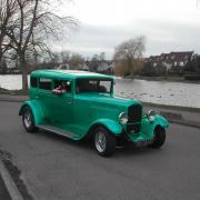 Street Rod - Peugeot berline  type  12/6 de 1928
