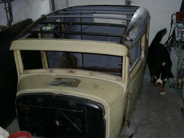 Cintrage et mise en place des traverses de toit - Tube acier de 20x20