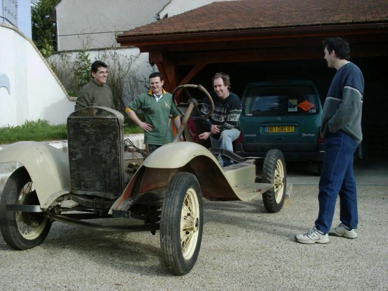 Vue générale du Chassis roulant