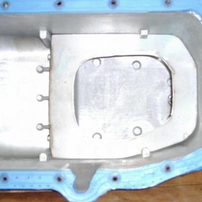 Rajout tole / anti désamorçage huile moteur