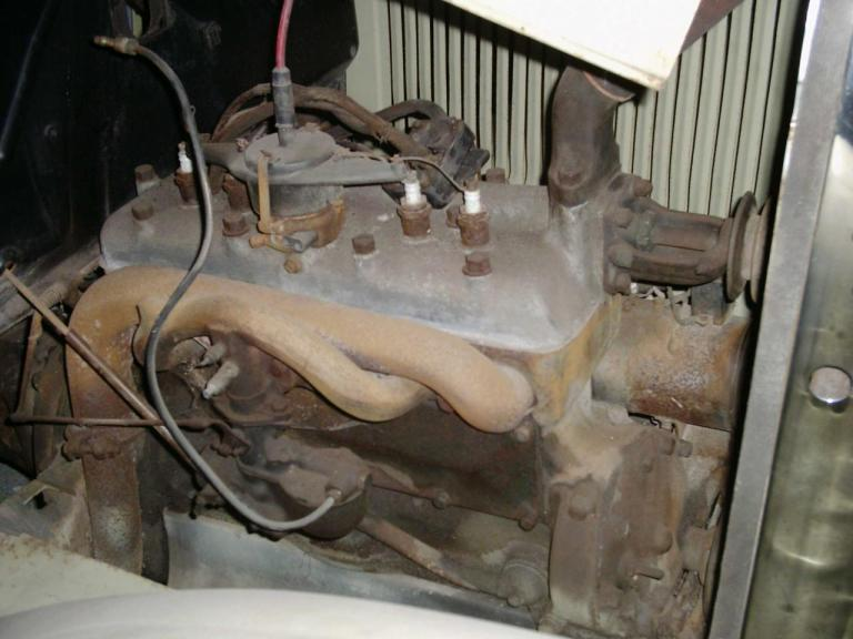 Moteur 4 cylindres -Non bloqué