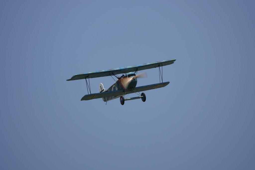 vol magnifique  du Fokker lors de ce Show des As 2021