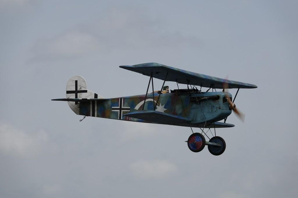le Fokker au Show des As  2021 , Sarlat Domme