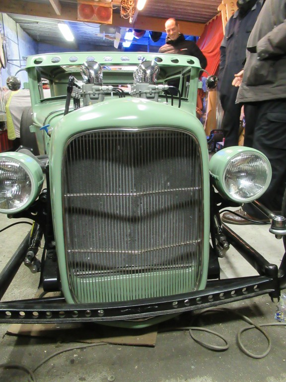 Calandre de Ford 32