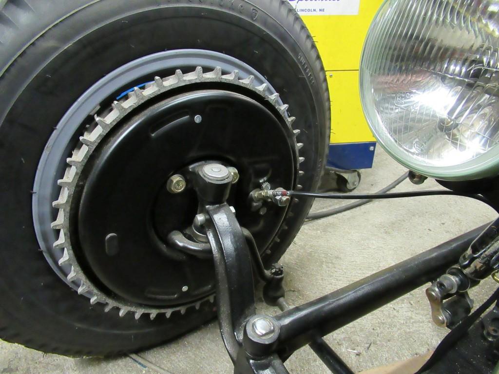 le tambour old skool cache un disque de frein