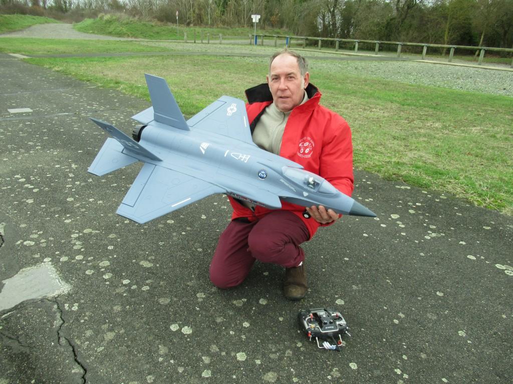 Jet - F35 . Freewing