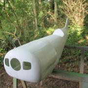 Après prise de cotes, le biplans sera à l'echelle 1/3 soit 1,70 m d'envergure