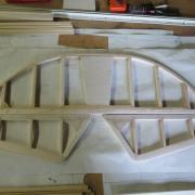 je commence la construction  par la fabrication du stabilisateur