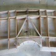 Stucture centrale de l'aile haute en cour