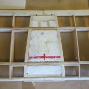 Remplissage centrale de la structure de l'aile basse