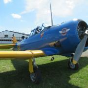 Howard T6 - prévu 30 minutes de vol chacun