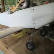 L'oiseau est enfin sur ses roues  de 95 mm