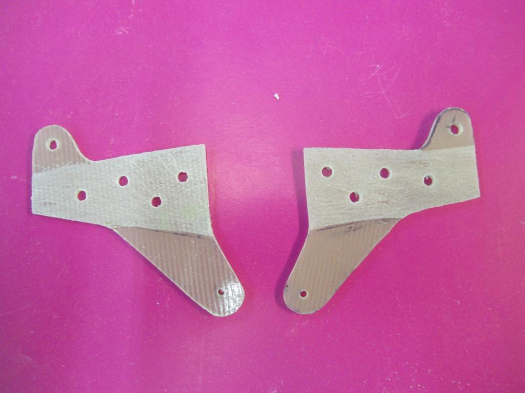 Fabrication des guignoles époxy pour les ailerons de l'aile basse