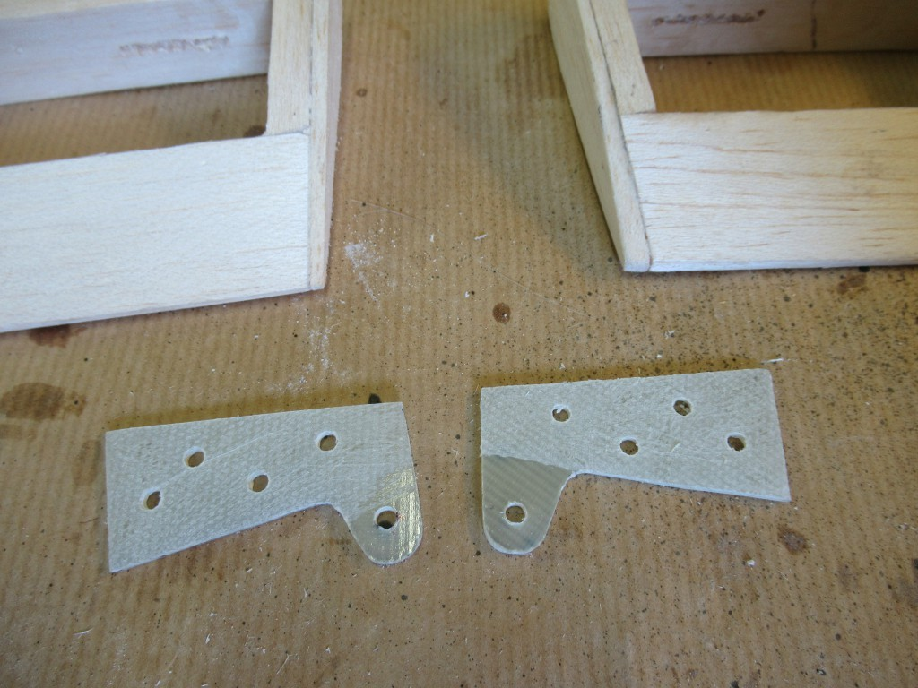 Fabrication des guignoles de renvois pour les  ailerons de l'aile haute