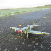 Posé du Spitfire