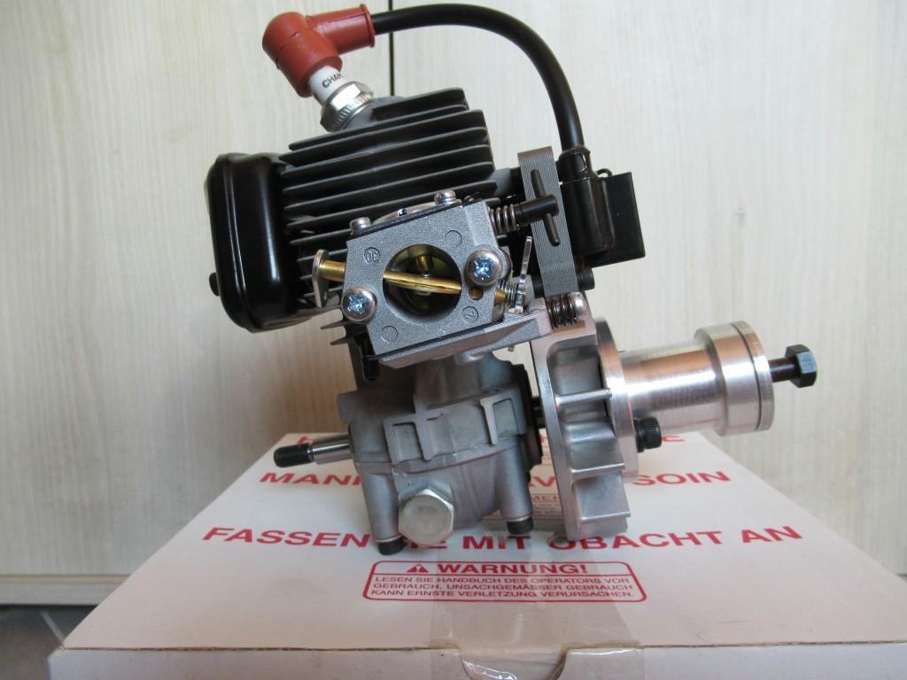Le moteur prévu  -  Un Zénoah 38cc