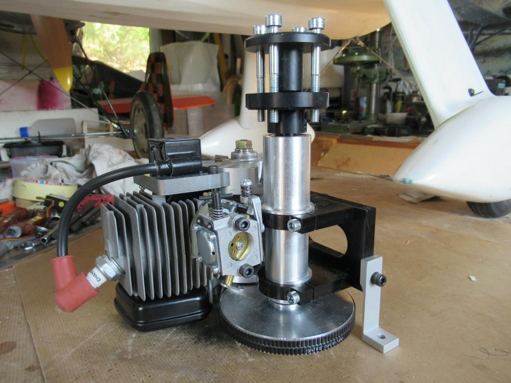 Réducteur  ZG 38cc pour version