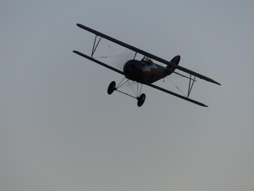 Passage à l'anglaise du  Nieuport