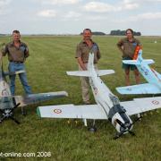 Meeting IMAA - La ferté Gauchée 2008- escadrille skyraiders