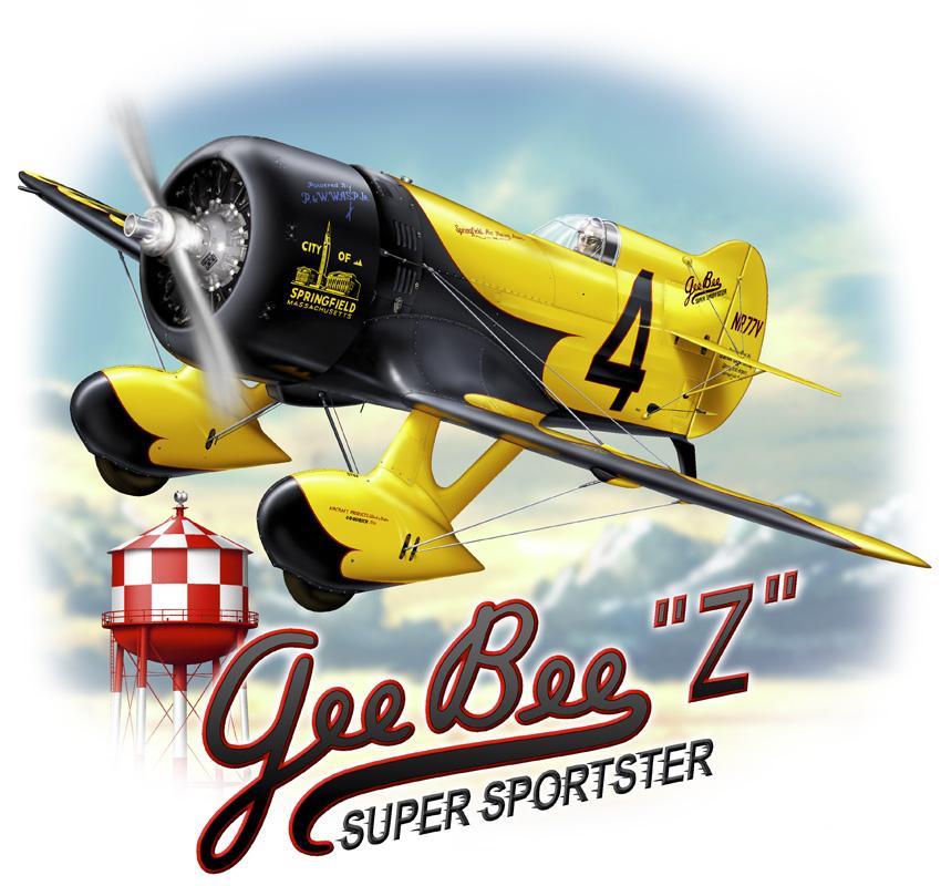 Gee Bee Z - Racer