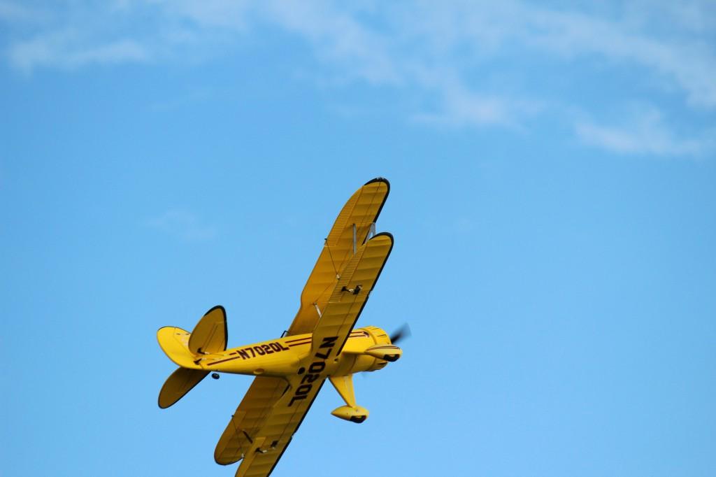 Waco in the  Blue sky