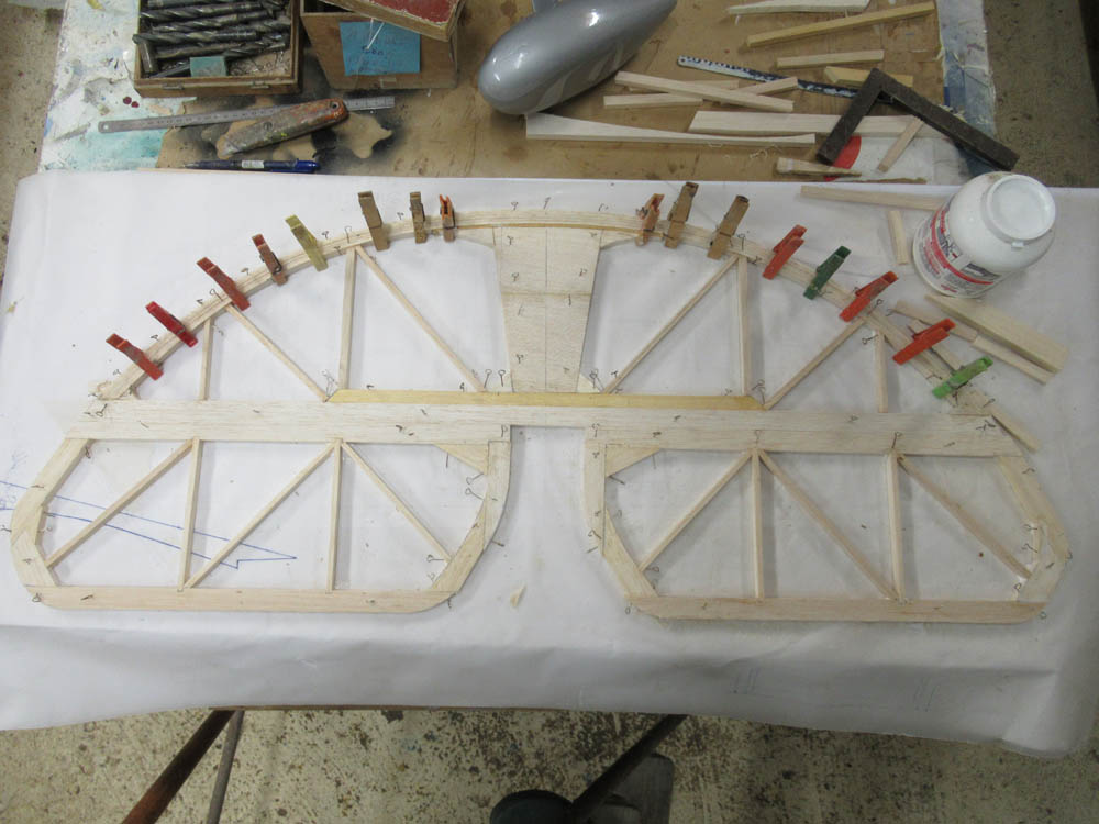Vue d'ensemble  du Treillis  stabilisateur
