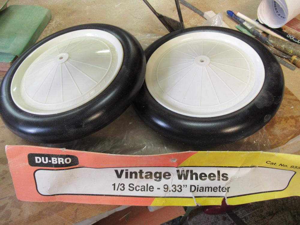 Roue DUBRO Vintage échelle 1/3 _ diamètre 240mm