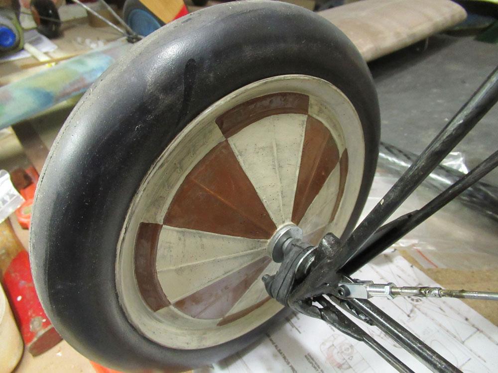 Reprise du motif intérieur des roues