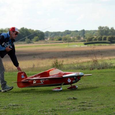 Mise en place  au décollage de mon Cassutt à aile modifié