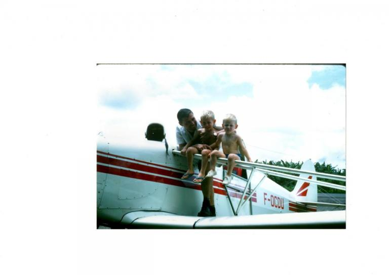 Sur le Pawnee de Mon Papa Moi
