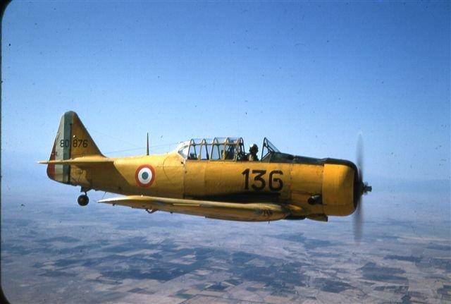 Algérie T6 ( Archive  JP. Baudin )