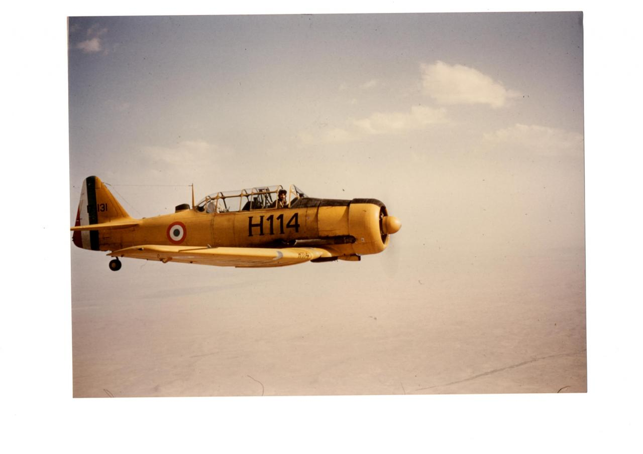 Algérie . T6-H114 ( archive JP.Baudin )