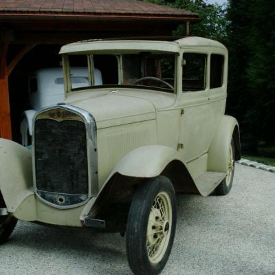 Cette Auto  a été fabriqué a l'usine d' Asniéres (93)