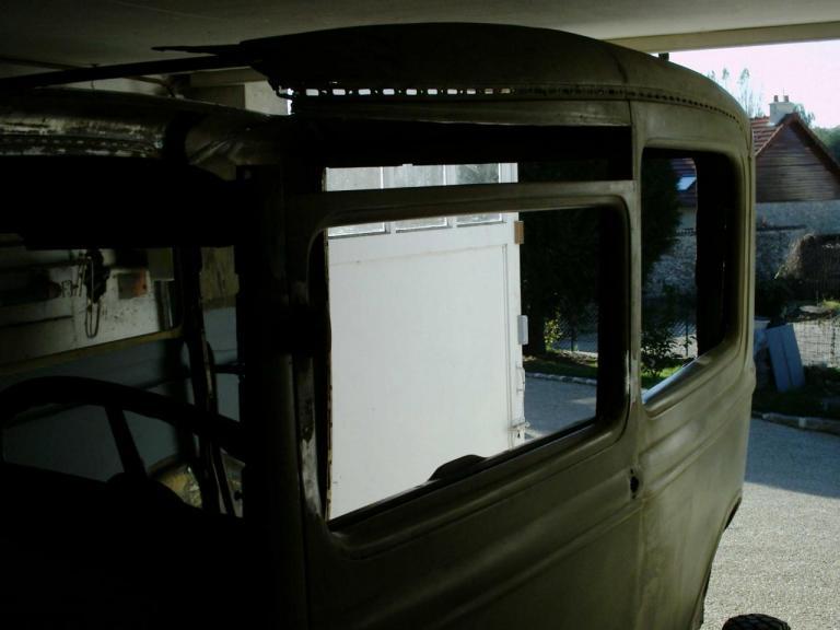 Top Chop sur une portiére - 8cms